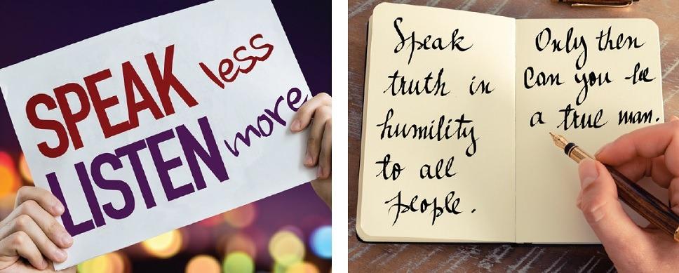 La humildad de servir