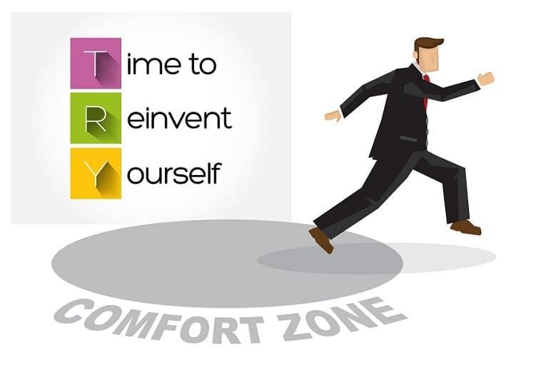 Nunca es tarde para salir de la zona de confort