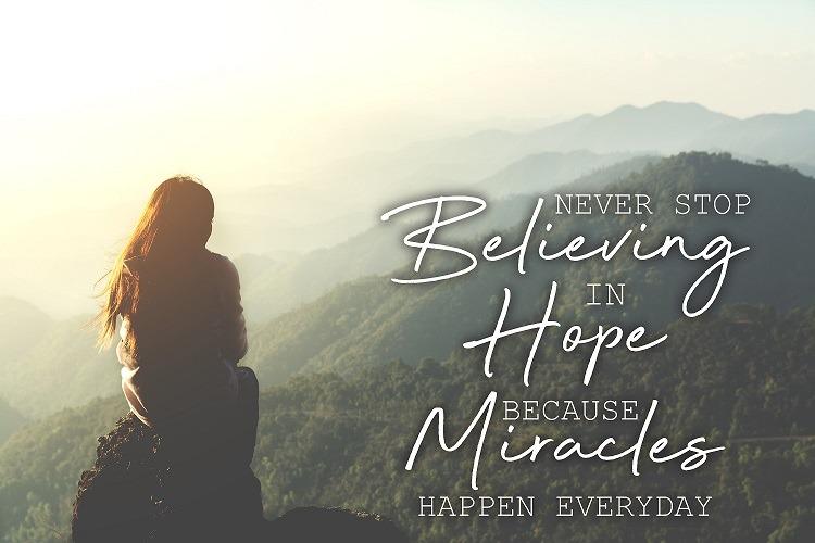 ¡Hágase el milagro!