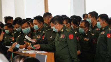 Photo of Myanmar parliament rejects Suu Kyi's bid to curtail military's power