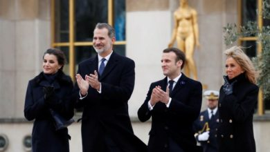Photo of Macron joins Spanish Royals to honour victims of terrorism