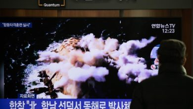 Photo of North Korea fires two short-range ballistic missiles, says South