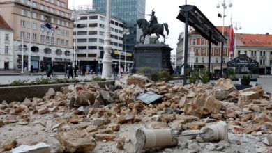 Photo of Zagreb rocked by 2 earthquakes amid lockdown
