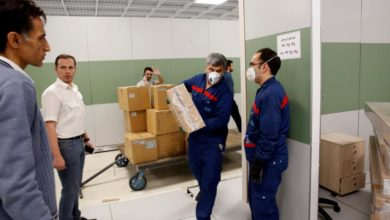 Photo of Iranian army builds coronavirus treatment centres as deaths reach 1,800