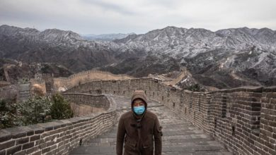Photo of Great Wall of China reopens with thin footfall, amid strict measures