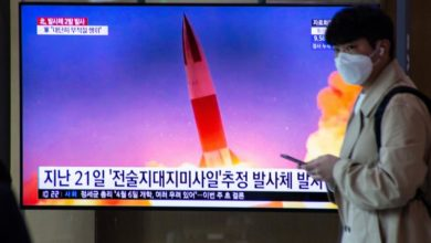 Photo of North Korea fires projectiles in 4th weapons test in month