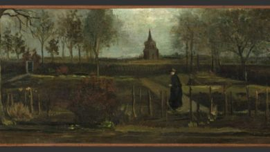 Photo of Van Gogh painting stolen from Dutch museum