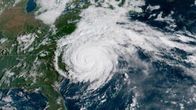 Photo of Florence toca tierra en la costa sureste como huracán de categoría 1