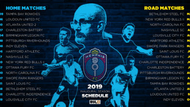 Photo of Memphis 901 FC revela el calendario completo para el 2019