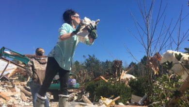 Photo of Devastador daño causado por tornado en comunidad de Columbus