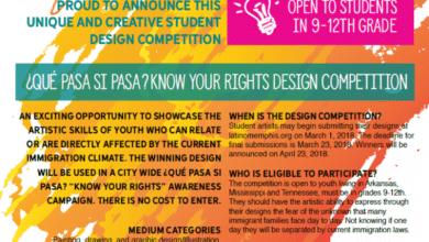 Photo of ¿Qué pasa si pasa? Competencia de diseño juvenil de Latino Memphis