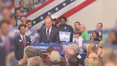Photo of Candidato presidencial demócrata Mike Bloomberg visita Memphis