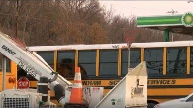 Photo of No se reportaron heridos en accidente de varios vehículos que involucró autobús escolar
