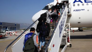 Photo of First group of refugee children relocated from Greece to Luxembourg