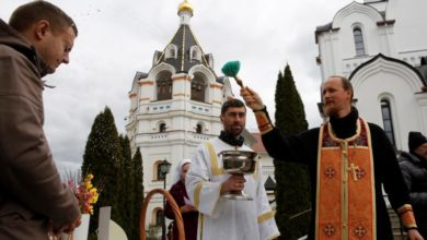 Photo of Orthodox Easter celebrations under lockdown