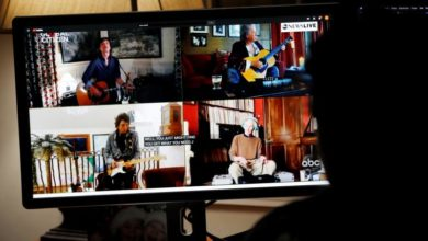Photo of Stars perform from home for global concert in tribute to healthcare workers