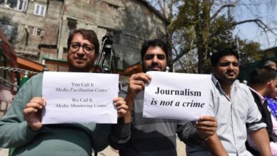 Photo of Amnesty criticizes India for slapping fake news cases on Kashmir journalists