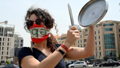 Photo of Protests resume in Lebanon as lawmakers return to work