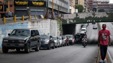 Photo of Fear grows over gasoline shortages in Venezuela