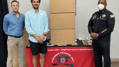 Photo of Brothers Donate KN95 Masks to Memphis Police Department
