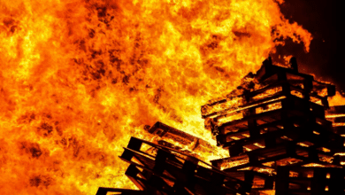 Photo of Pallet Company Catches Fire, $1 million in damages
