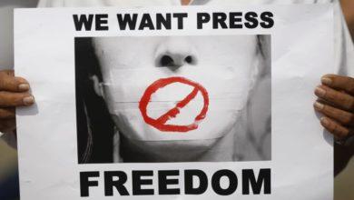 Photo of Press freedom under increasing threats, made worse by coronavirus pandemic