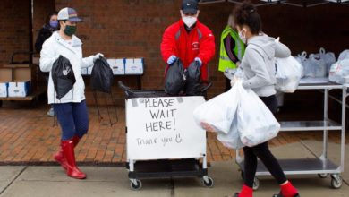 Photo of Volunteers provide lifeline to poor and needy outside Boston