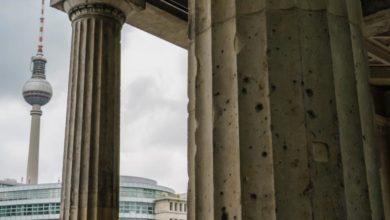 Photo of Berlin's buildings still show scars of WW2