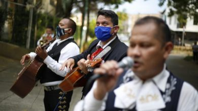 Photo of Colombia's 'serenaders' take to streets to stay afloat amid lockdown