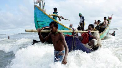 Photo of Bangladesh ferries more Rohingyas to remote island