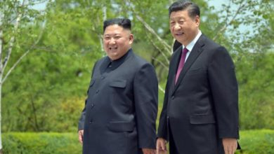 Photo of Chinese president responds to Kim's congratulatory message