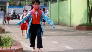 Photo of Vietnamese children return to school as COVID-19 restrictions eased