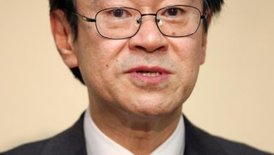 Photo of Japanese prosecutor who participated in gambling sessions resigns