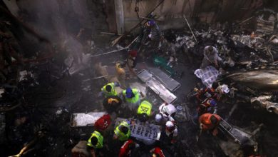 Photo of Dozens feared dead after Pakistan plane crashes with over 100 people onboard