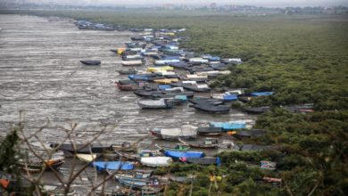 Photo of Cyclone Nisarga lashes India's western coast