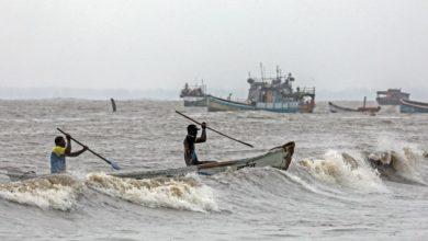 Photo of Cyclone kills at least 3 in India but spares Mumbai from major damage