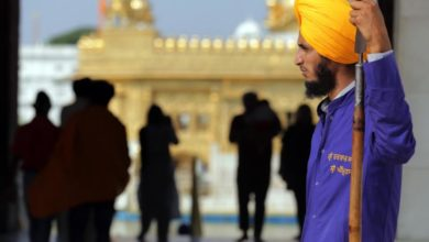 Photo of Sikh devotees visit reopen Golden Temple in India