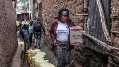 Photo of Distribution of sanitary pads curbs prostitution in Nairobi