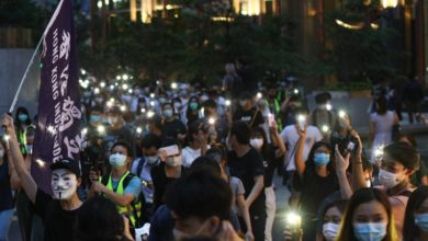 Photo of 53 arrested in Hong Kong protests marking 1 year of unrest