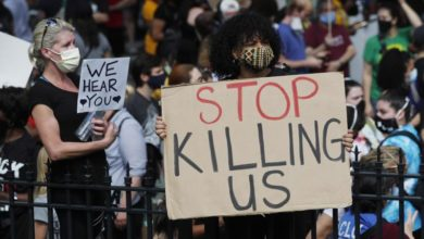 Photo of Thousands protest death of Atlanta black man, family demands justice
