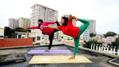Photo of Yoga, India's response to the COVID-19 lockdown