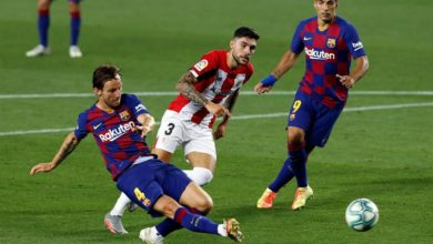 Photo of Rakitic keeps Barcelona alive in La Liga action with 1-0 win over Athletic
