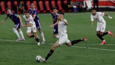 Photo of Sevilla held 1-1 by Valladolid