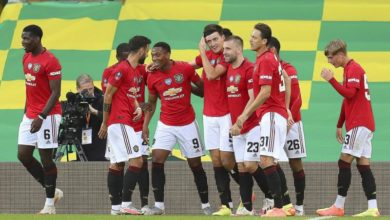 Photo of Man United beat Norwich to reach FA Cup final four