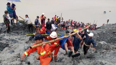 Photo of At least 162 killed in Myanmar jade mine collapse