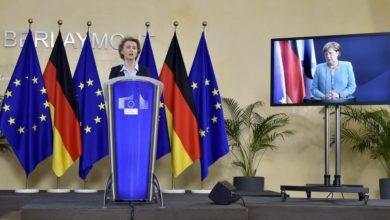 Photo of Von der Leyen, Merkel urge EU action to tackle Covid-19 crisis