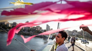Photo of Kites fly over Nile amid pandemic