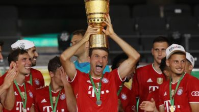 Photo of Bayern top Leverkusen 4-2 to win 20th German Cup