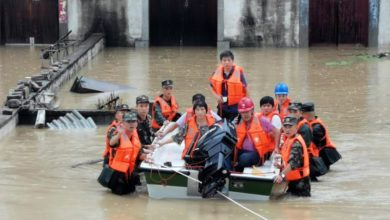 Photo of At least 9 missing after rain triggers landslide in China