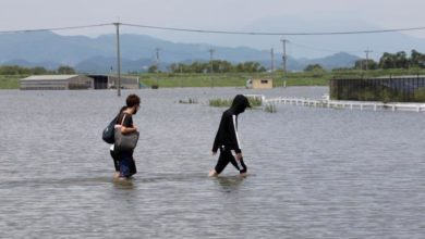 Photo of Torrential rains leave 58 dead as flooding hits central Japan